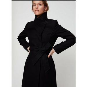 Aritzia Babaton black wool and cashmere blend jack